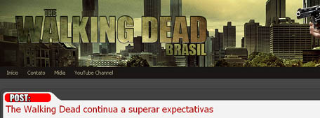 Mural da vergonha twd brasil the walking dead brasil for Mural walking dead