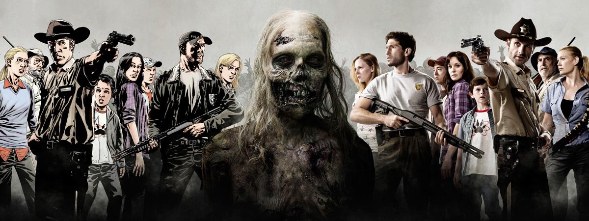 The-Walking-Dead-Personagens-da-Serie-de-TV-Quadrinhos