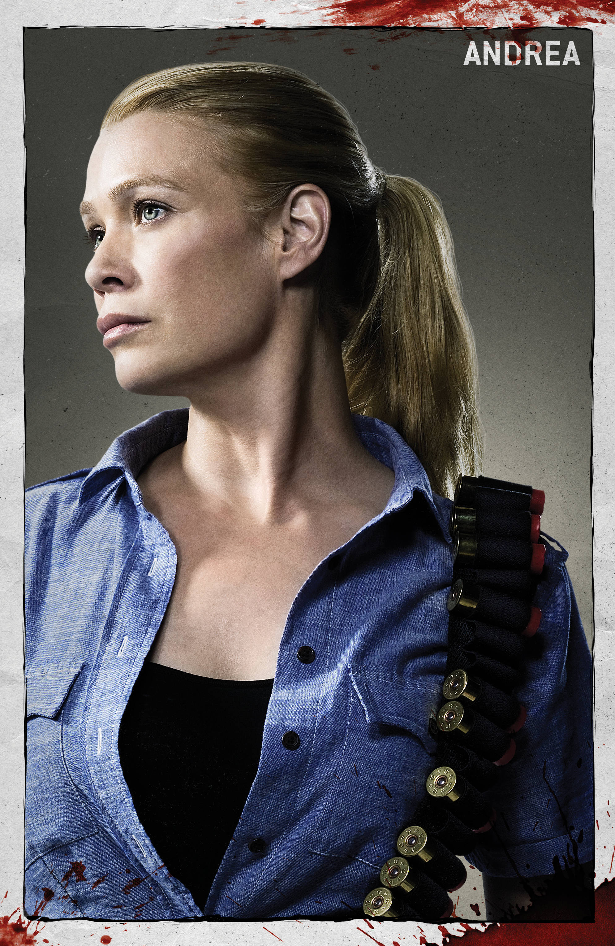 The Walking Dead Andrea Tot
