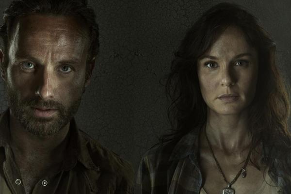 Rick e Lori The Walking Dead