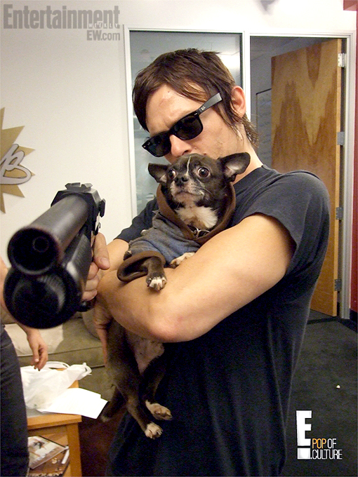 Norman Reedus no The Soup