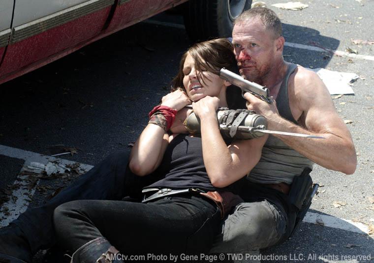 Bastidores da 3ª temporada de The Walking Dead: Episódio 3x06 -