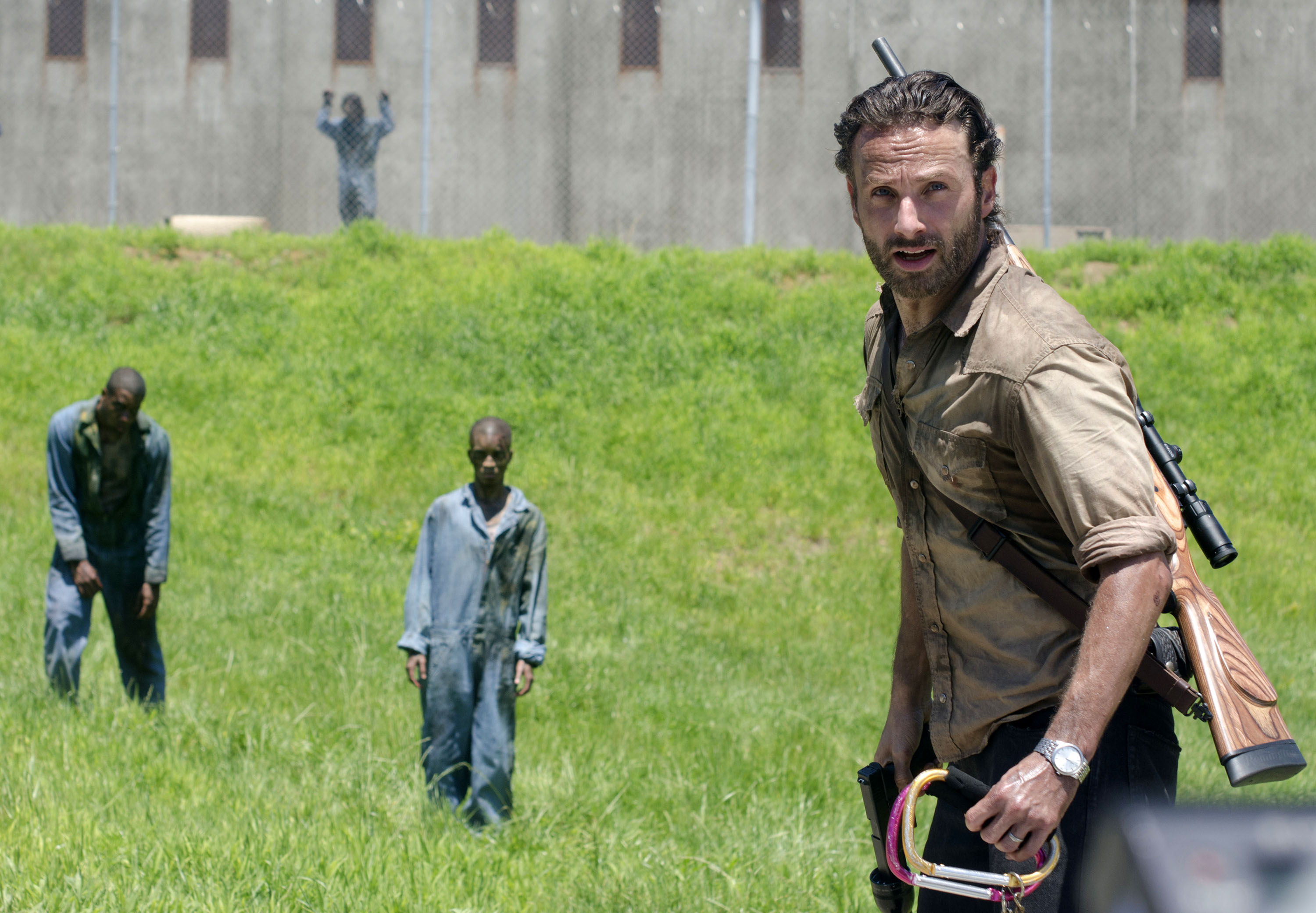 Andrew Lincoln fala sobre o surpreendente final da midseason