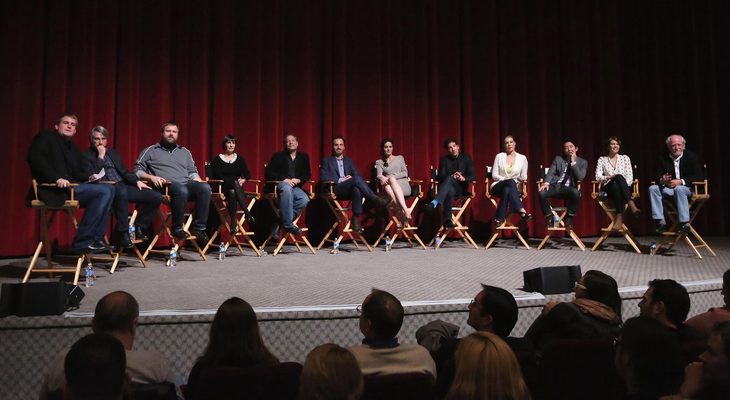 [2013] Lista de participação do elenco de The Walking Dead em Convenções