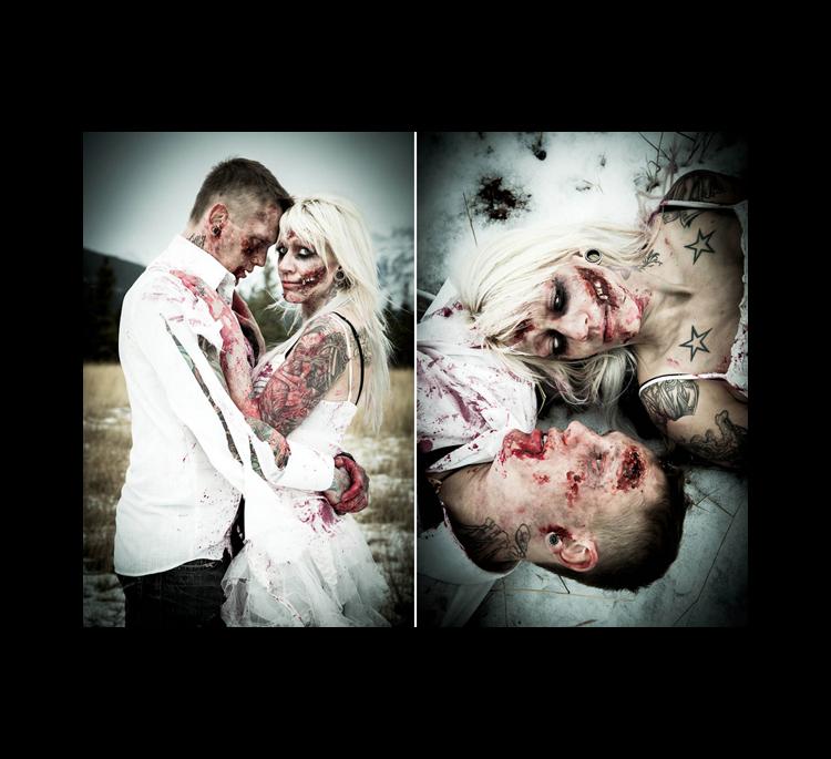 Ensaio de Casamento Zumbi