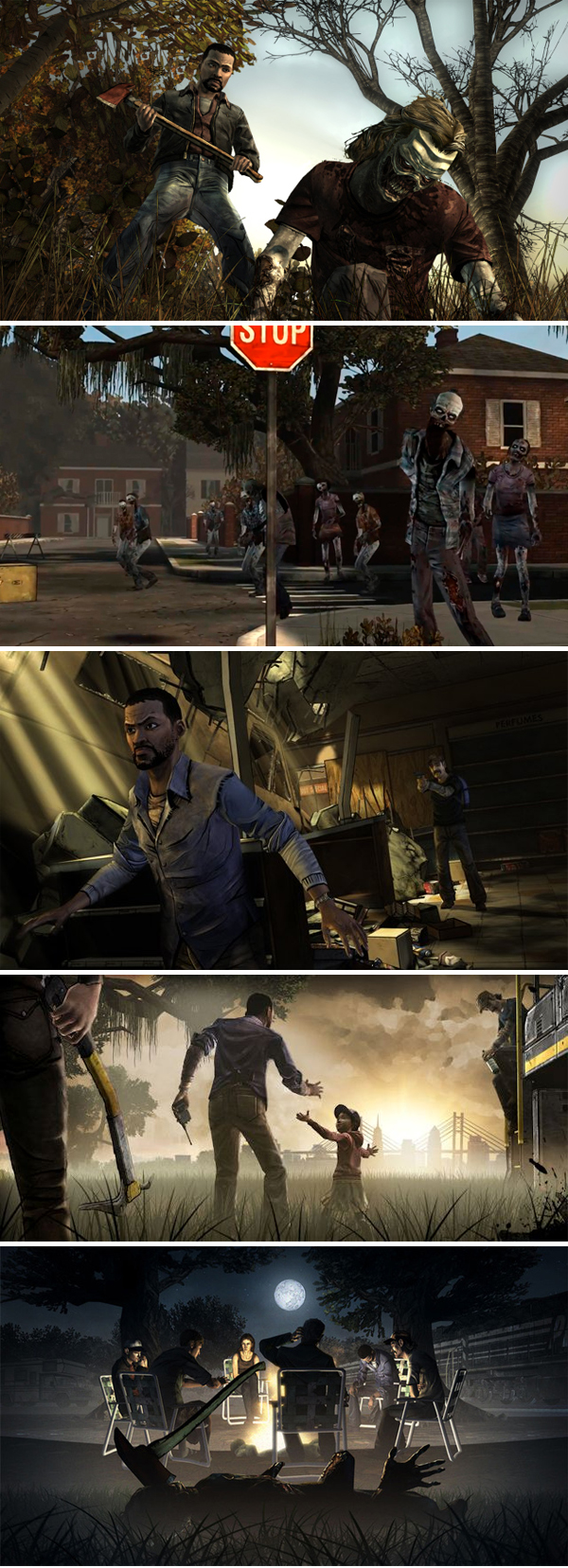 Game - The Walking- Dead