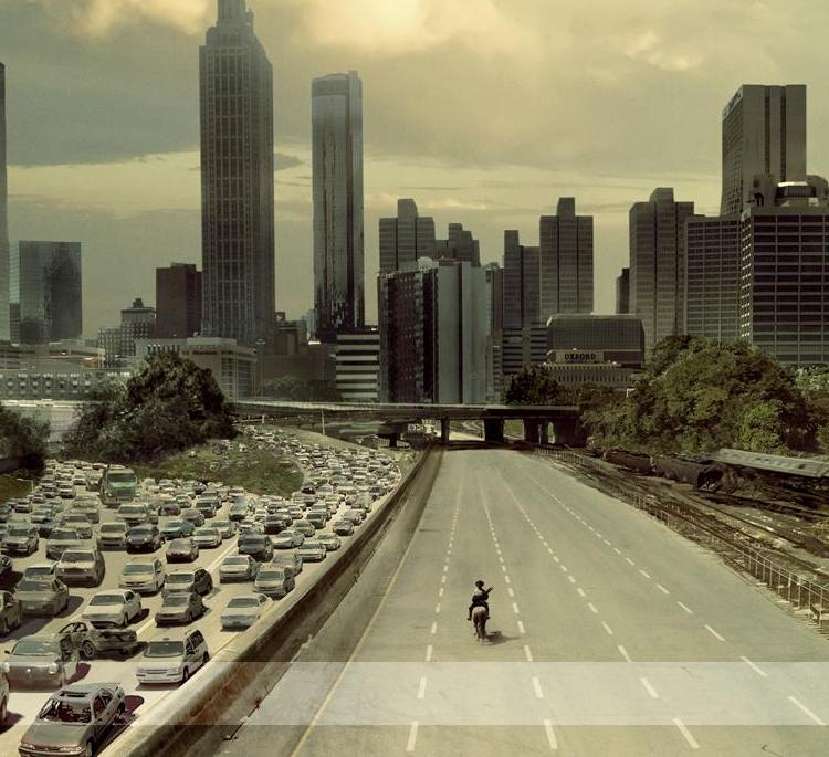 The Walking Dead e Skyfall