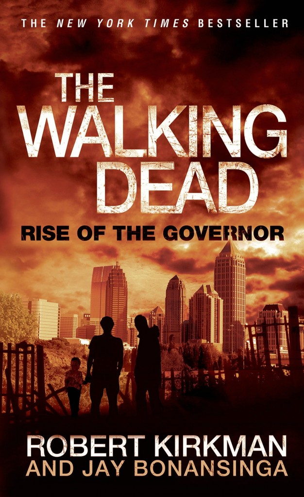 """Capa da versão especial do """"The Walking Dead Escape"""" do livro """"The Walking Dead: Rise of Governor""""."""