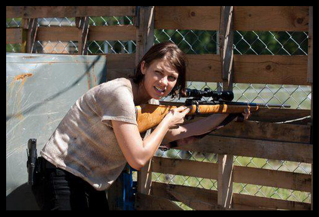 Terceira Temporada: Maggie prepara a mira em nova foto do episódio 11 -