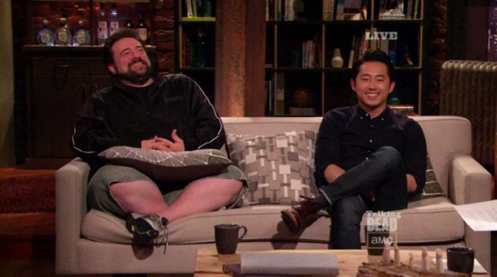 Talking Dead Brasil #1 - Kevin Smith e Steven Yeun
