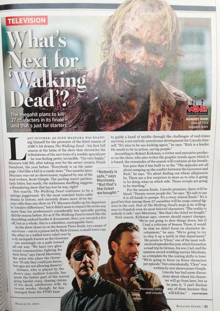 Scan - The Walking Dead na Rolling Stones