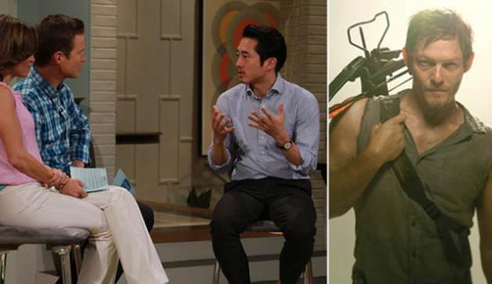 Steven Yeun fala sobre o sucesso de The Walking Dead com as mulheres: