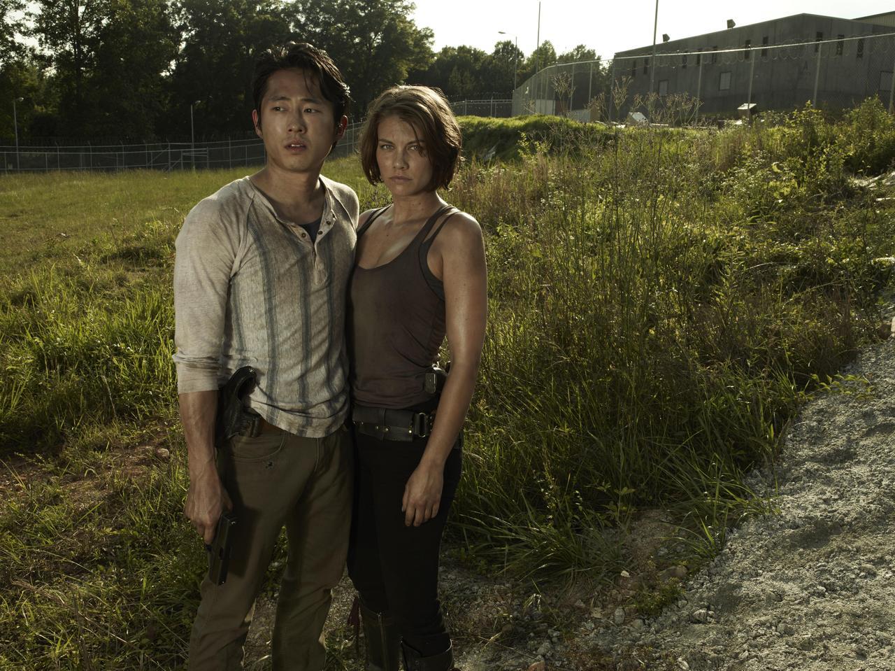 Lauren Cohan fala sobre o momento quente de Maggie e Glenn no último episódio