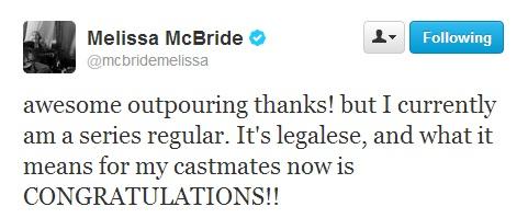 Melissa McBride - Twitter