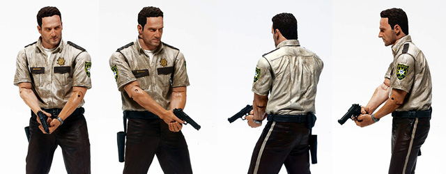 The Walking Dead Action Figures - Deputy Rick Grimes