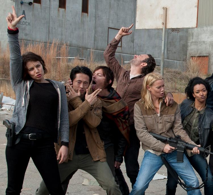 The Walking Dead tem 5 pontos de média no Ibope