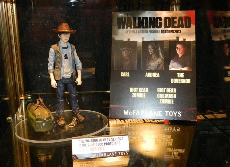 Primeiras imagens da nova coleção de bonecos oficiais de The Walking Dead inspirados na série de TV
