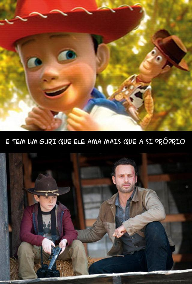 The Walking Dead e Toy Story 005