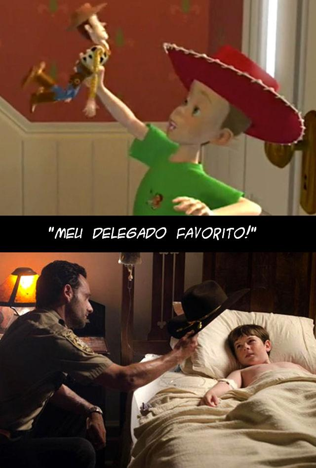 The Walking Dead e Toy Story 007