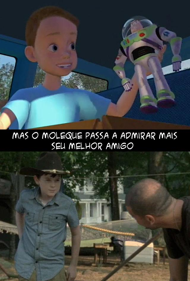 The Walking Dead e Toy Story 008