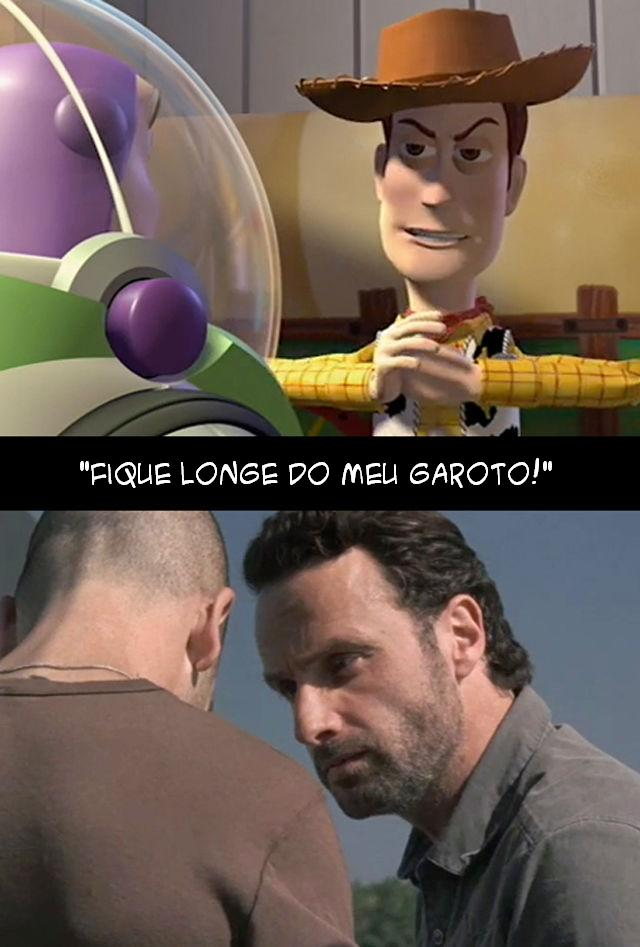 The Walking Dead e Toy Story 009