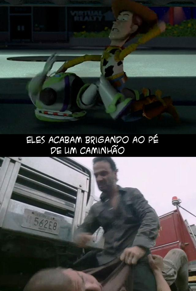 The Walking Dead e Toy Story 010