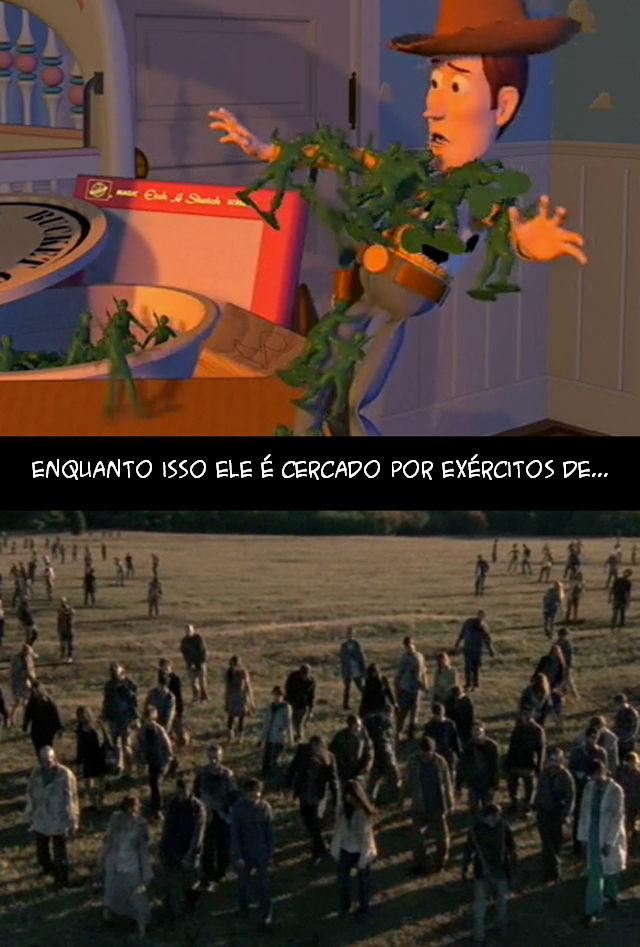 The Walking Dead e Toy Story 014