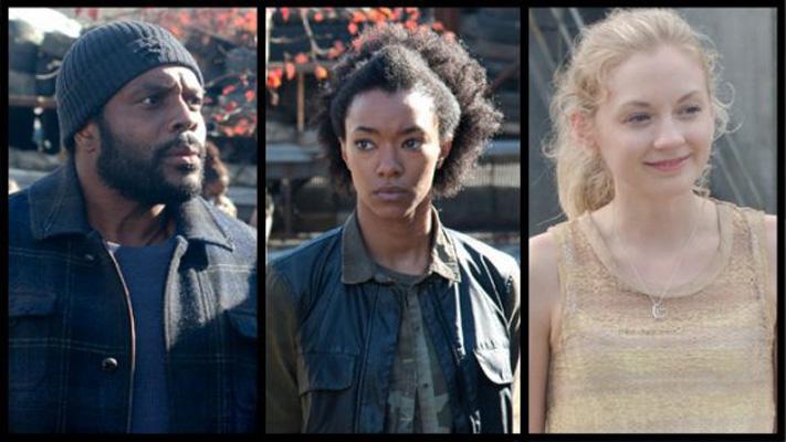 Chad Coleman, Sonequa Martin-Green e Emily Kinney entram para o elenco regular da quarta temporada