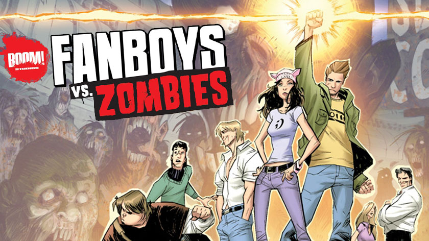 [LEITURA ONLINE] Conhecendo a HQ Fanboys vs Zombies