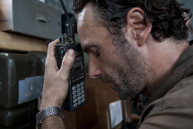 Andrew Lincoln - Rick Grimes em The Walking Dead 001