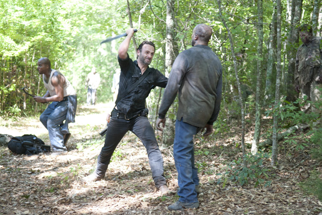 Andrew Lincoln - Rick Grimes em The Walking Dead 002