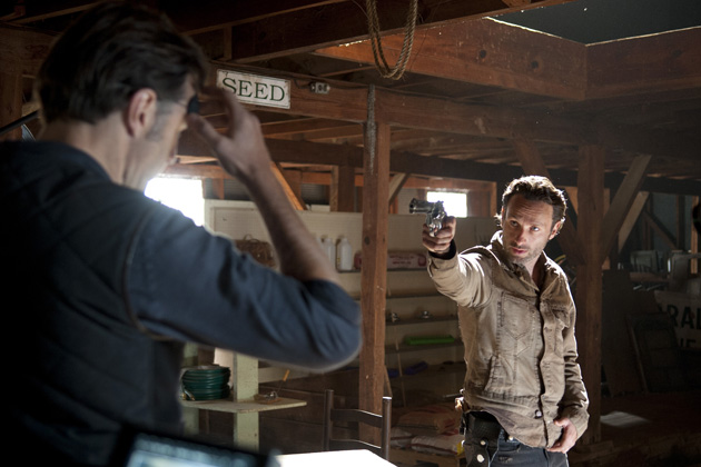 Andrew Lincoln - Rick Grimes em The Walking Dead 004