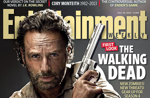 The Walking Dead ganha três capas na revista Entertainment Weekly