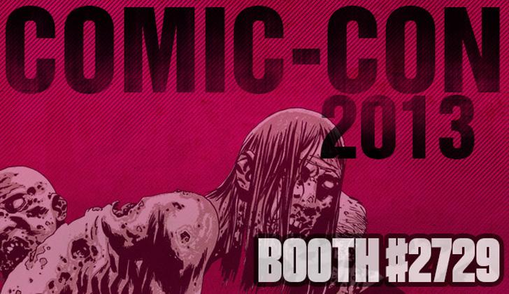 Robert Kirkman e Painéis Skybound com sessão de autógrafos na Comic-Con