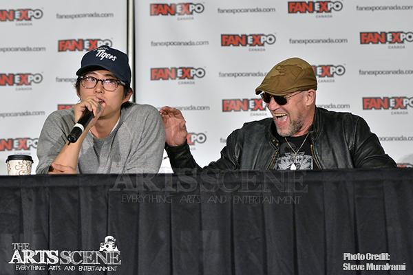 The Walking Dead Painel na Fan Expo 2013 - 030