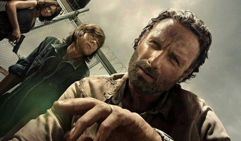 The Walking Dead 4ª Temporada: Elenco no set de filmagens do ...