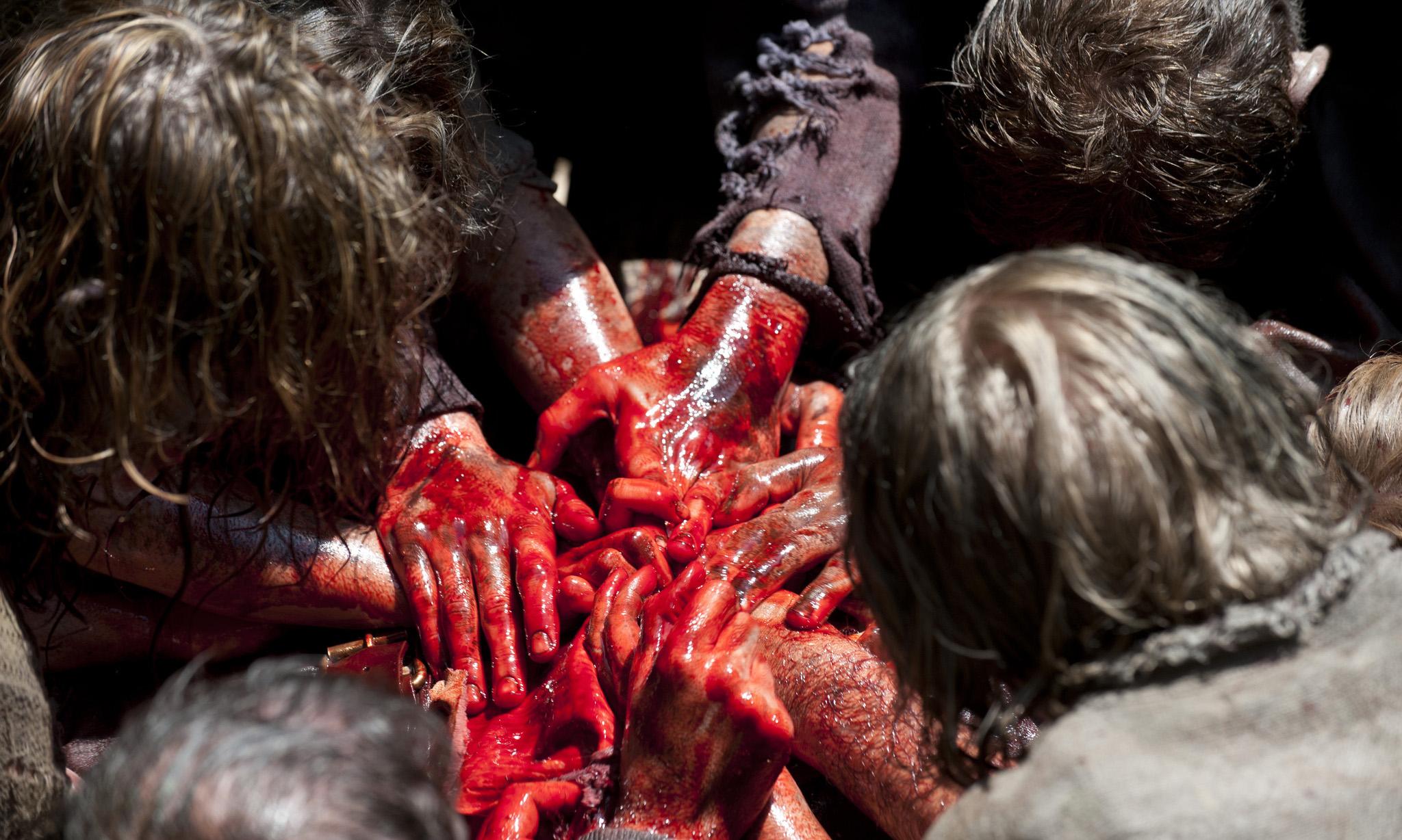 Walkers - The Walking Dead - Season 3, Episode 7 - Photo Credit: Gene Page/AMC