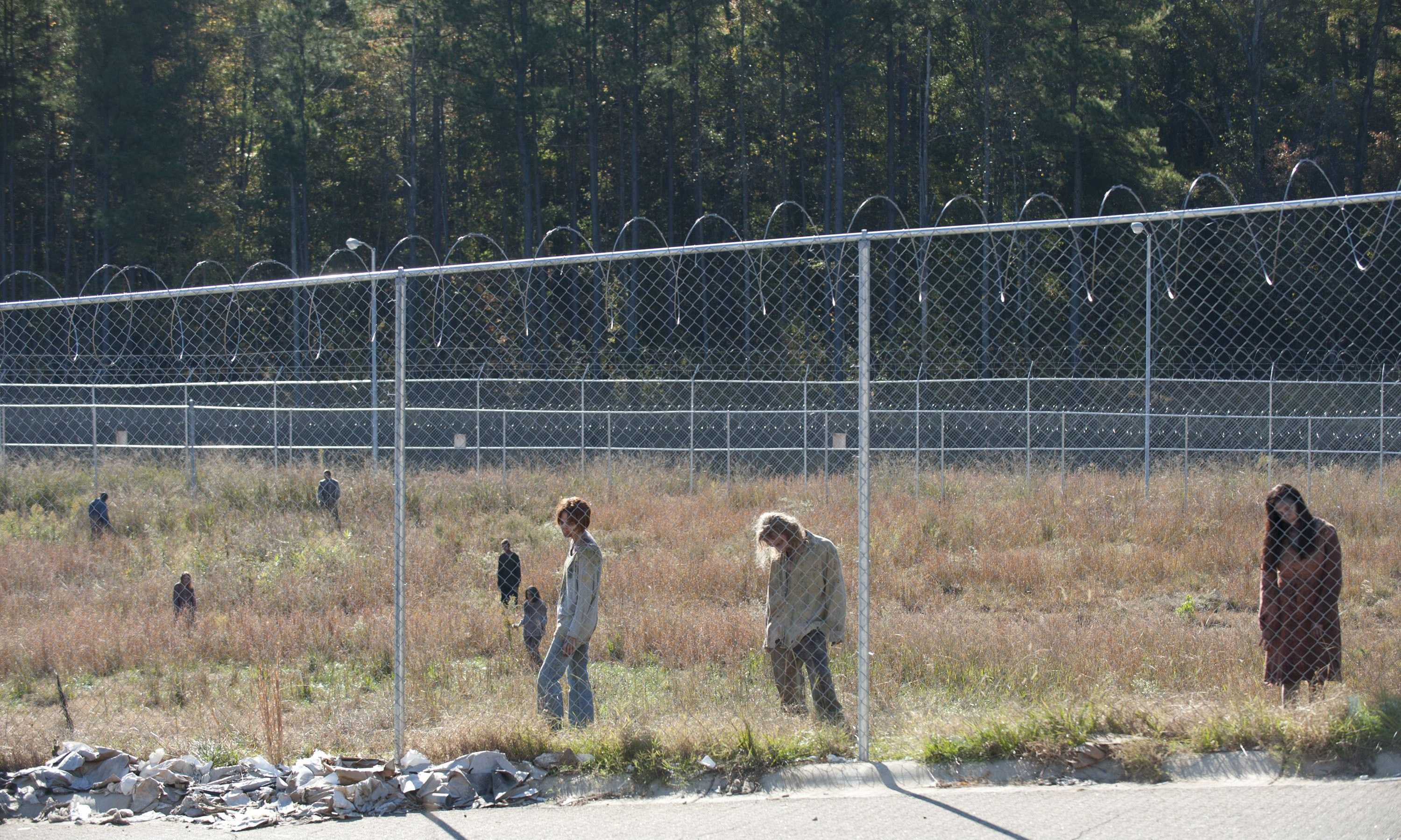 Walkers - The Walking Dead - Season 3, Episode 15 - Photo Credit: Gene Page/AMC