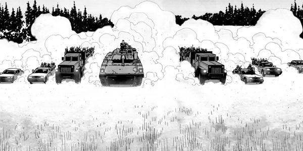 010 - O retorno do Governador... com um tanque