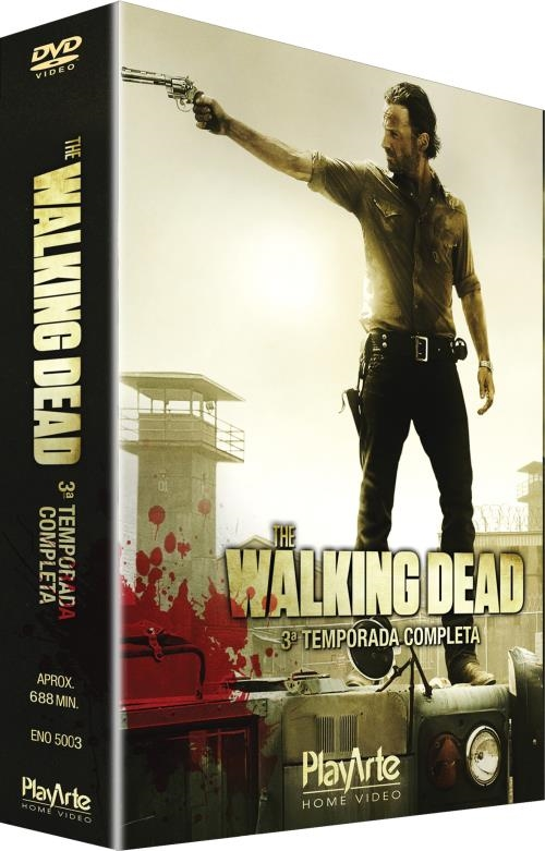 DVD da Terceira Temporada de The Walking Dead