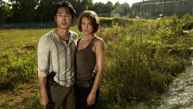 Glenn e Maggie - The Walking Dead