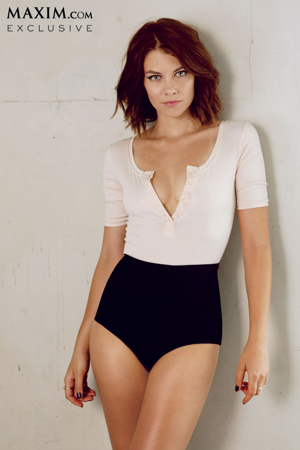 Lauren Cohan incrivelmente linda em novo photoshoot para a MaximLauren Cohan Maxim 2013