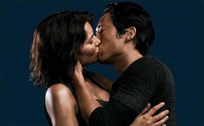 The Walking Dead 4ª Temporada: Steven Yeun e Lauren Cohan prometem 'mais amor e menos empurrões' para Glenn e Maggie