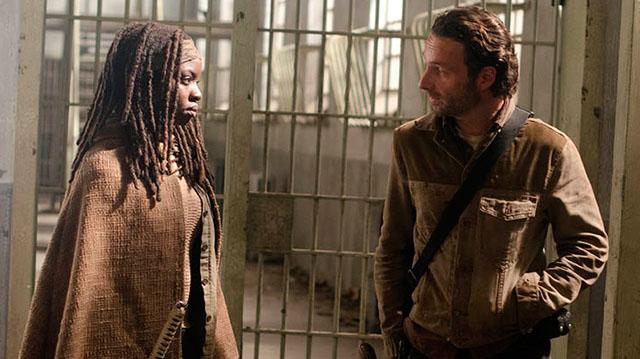 Rick e Michonne - The Walking Dead