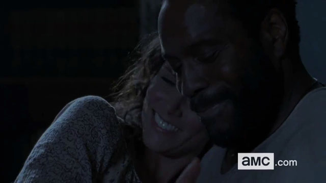 Tyreese e Karen - The Walking Dead