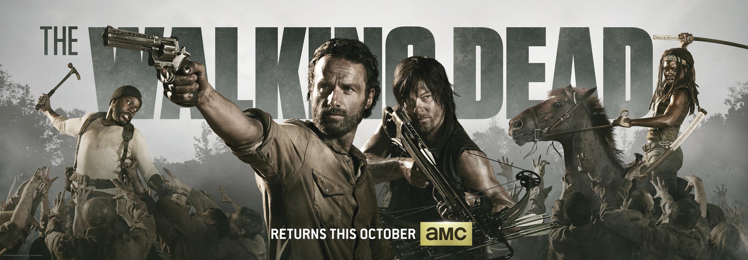 The Walking Dead Quarta Temporada: Conheça os novos personagens