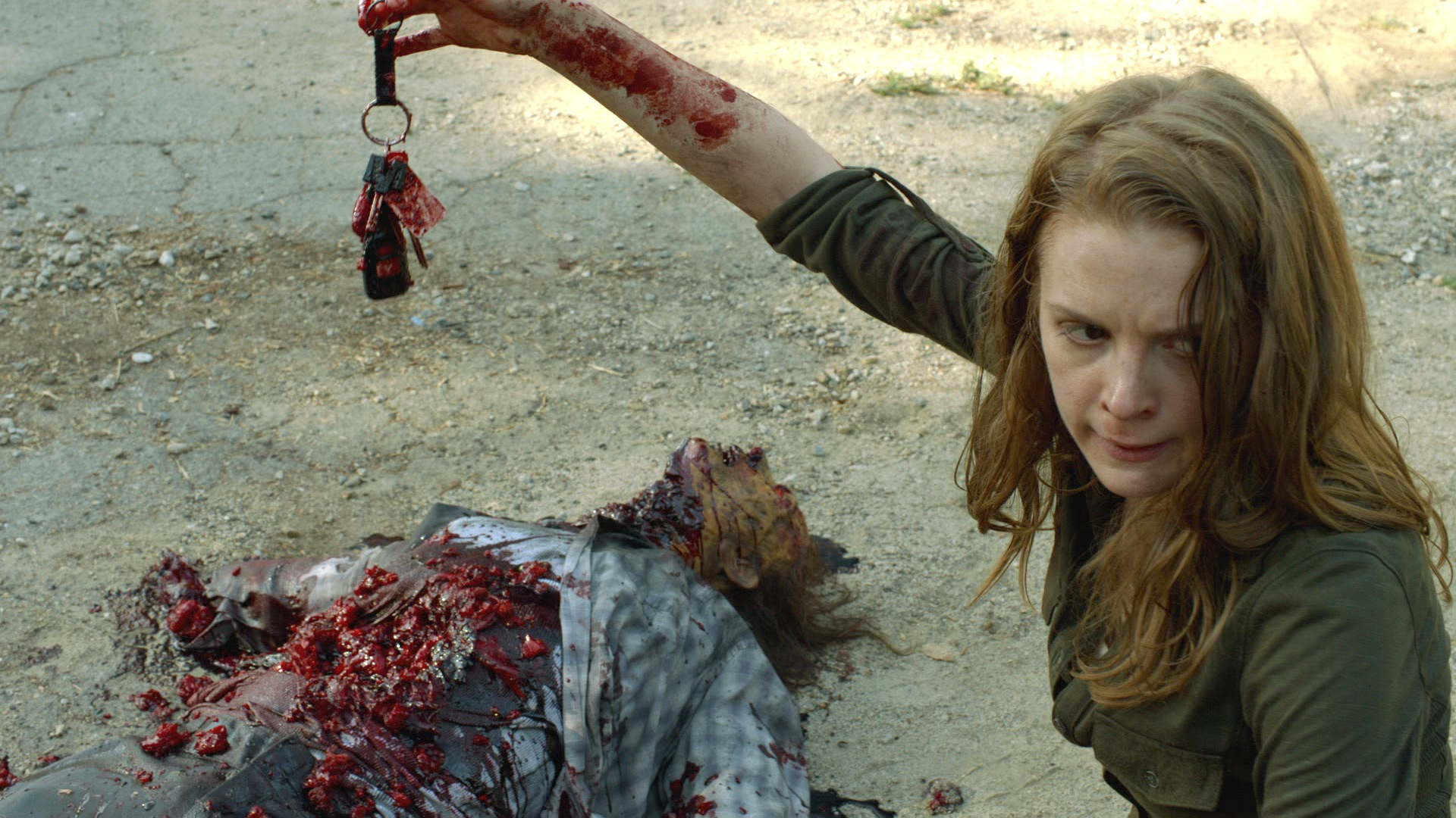 The Walking Dead - The Oath: Perguntas e Respostas com Ashley Bell (Karina)