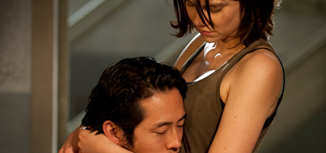 Glenn-Maggie-The-Walking-Dead-4-Temporada-Episodio-1