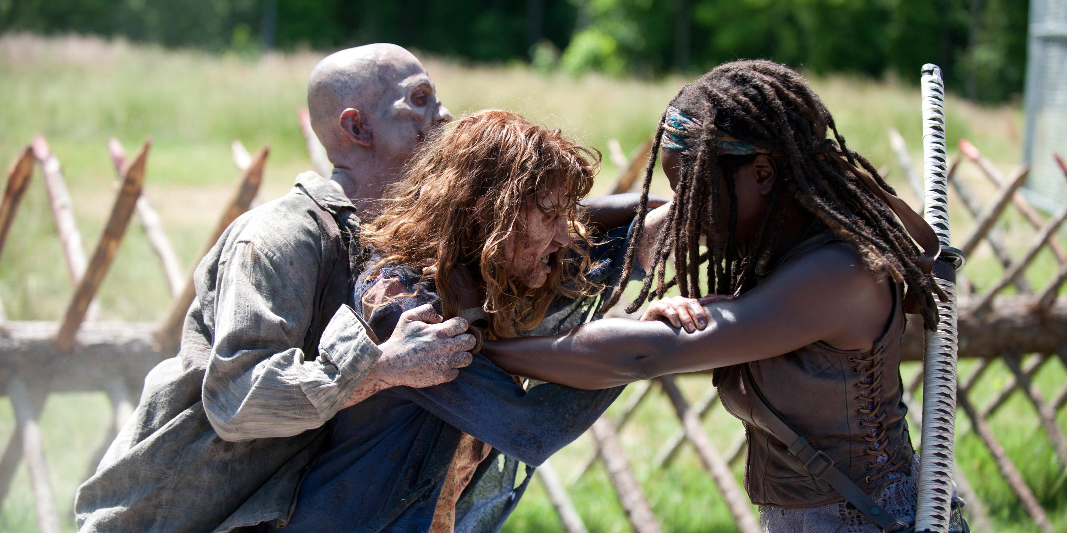 Michonne-The-Walking-Dead-4-Temporada-Episodio-S04E02-Infected