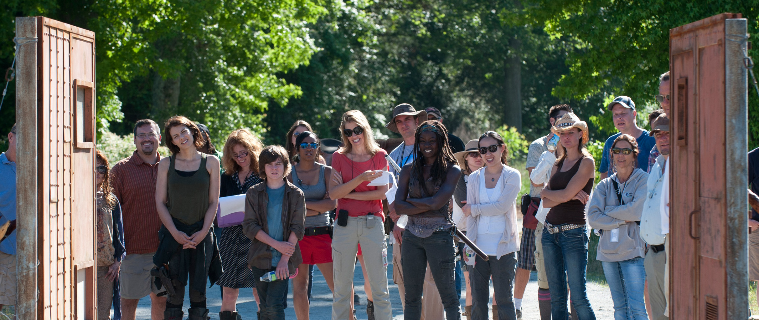 Bastidores da 4ª temporada de The Walking Dead: Episódio S04E02 -